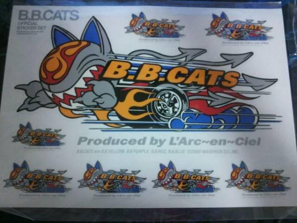 【今だけ限定値下げ】未開封★ラルクアンシエル★グッズ★B.B.CATSステッカー