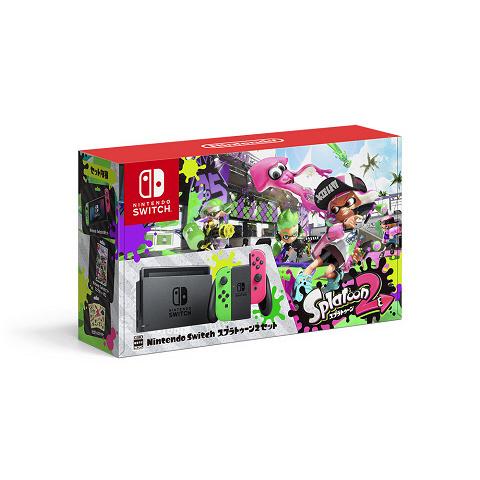 【Amazon.co.jp限定】Nintendo Switch スプラトゥーン2セット a グッズの画像
