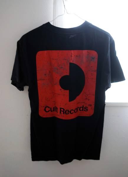 激レア!オフィシャル!Julian casablancas&thevoizTシャツS/ストロークスstrokesジュリアンカサブランカスcultrecordsカルトレコード