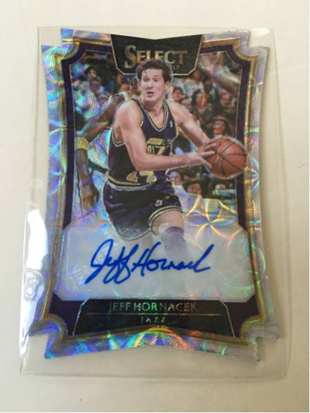 16-17 Select NBA 31/49枚限定 D-Cut Auto Jeff Hornacek Jazz 貴重品! グッズの画像