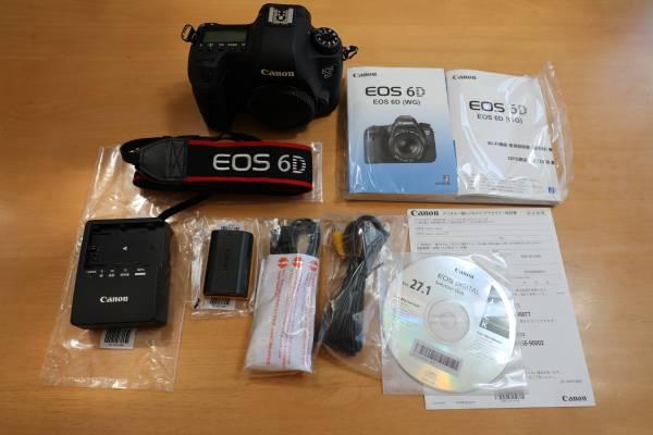 1円~★即決有!Canon キャノン EOS 6D ボディ 新品同様★シャッターカウント3,571回!付属品完備