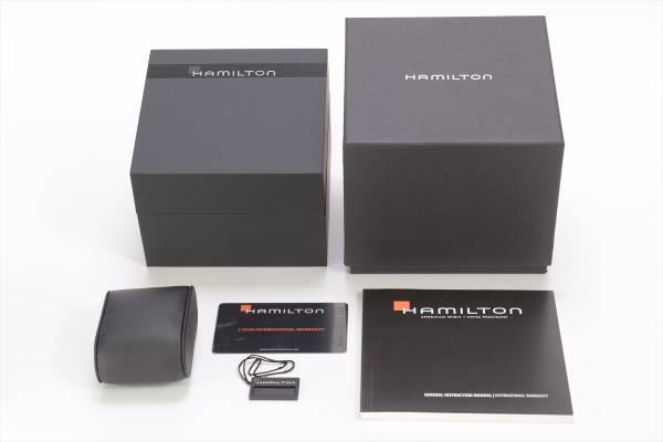 →□ 新品 HAMILTON カーキネイビー オープンウォーター オート ダイバーズ H77705145 自動巻き 腕時計 メンズ_画像6
