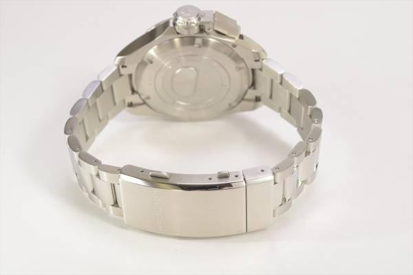 →□ 新品 HAMILTON カーキネイビー オープンウォーター オート ダイバーズ H77705145 自動巻き 腕時計 メンズ_画像3