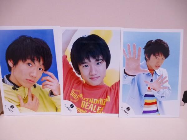 【中古】Johnny's公式写真 Jr時代 風間俊介 3枚