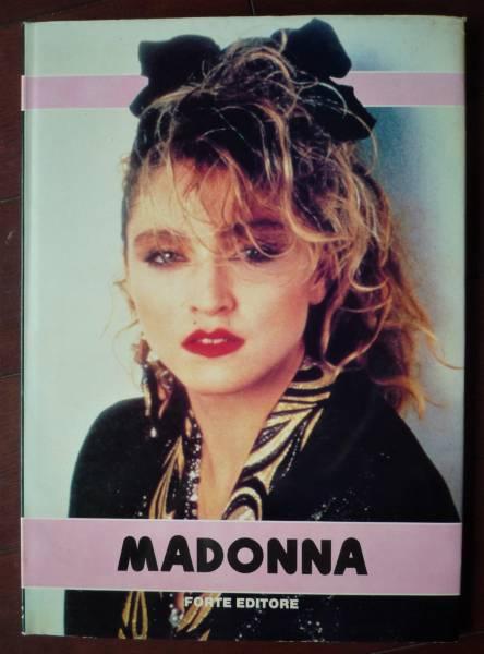 マドンナ MADONNA 写真集 イタリア語 洋書 オールカラー ハードカバー 美品 ライブグッズの画像