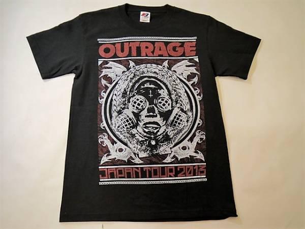 美品◆OUTRAGE アウトレイジ◆ジャパンツアー2013 メタル バンドTシャツ:M