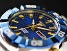 1円 セイコー 抜群に美しいサファイヤブルー 激レア 裏スケルトン100m防水 機械式自動巻き手巻き 腕時計 SEIKO5スポーツ 新品 メンズ逆輸入