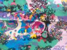 サンリオ★リトルツインスターズ★キキララ×ホラグチカヨ★コラボ★生地幅約109cm×50cm★廃盤生地★貴重★オックス★はぎれカット生地