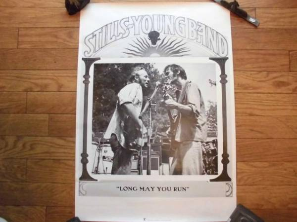 ◆STILLS & YOUNG BAND ポスター / Stephen Stills ・Neil Young
