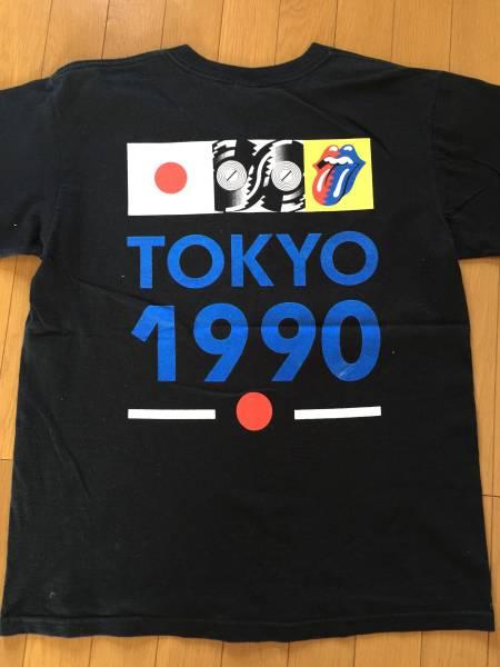 ローリングストーンズ 1990年 初来日復刻 Tシャツ ライブグッズの画像