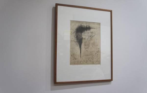 *甲斐サチ「港」1962年、作家の代表作品です。大分県立美術館収蔵作品。