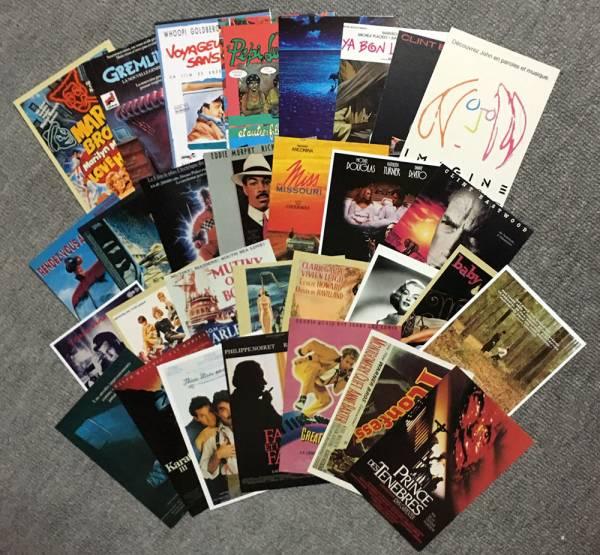 映画 ポストカード いろいろ 古い映画など 30枚セット① マリリンモンロー グッズの画像