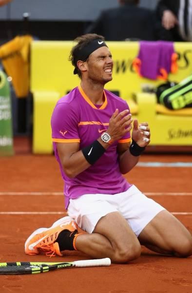 ラファエル・ナダル 2L判写真1枚 テニス ⑤