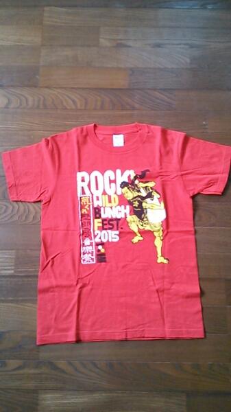 WILD BUNCH FES. 2015 記念T-シャツ 赤 Sサイズ ワイルドバンチ エレファントカシマシ Dragon Ash The Birthday ONE OK ROCK