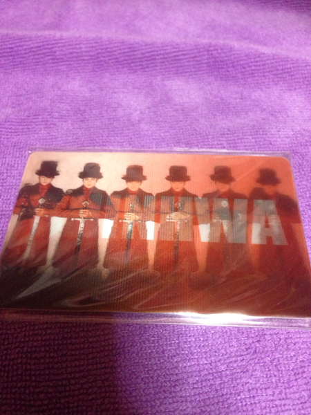 SHINHWA シンファ 韓国 T-moneyカード 未使用 コンサートグッズの画像