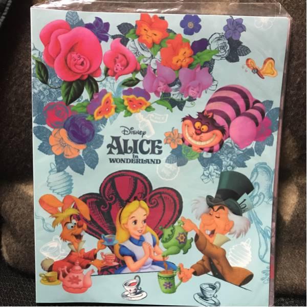 東京ディズニーリゾート限定 ふしぎの国のアリス チェシャ猫 フットアルバム 新品 ディズニーグッズの画像