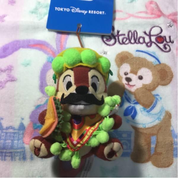東京ディズニーリゾート2012年テーブル・イズ・ウェイティング限定 チップ&デール チップ ストラップ ディズニーグッズの画像