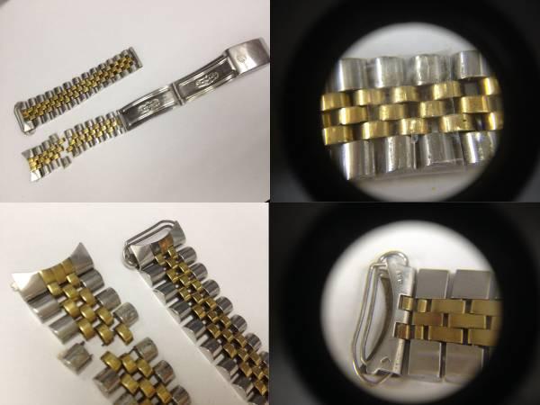 ●ロレックス デイトジャスト 16013 シャンパンゴールド文字盤 YG K18 SS コンビ メンズ腕時計●中古_画像2