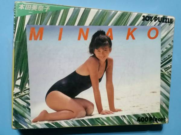 本田美奈子・パズル・400P・アイドル・レトロ