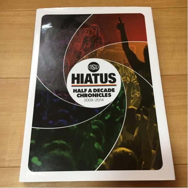 the HIATUS HALF A DECADE CHRONICLES 2009-2014 パンフレット 写真集