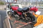 埼玉拠点 バイク陸送 輸送 配送 パーツ同時配送無料! 大型、屋根付き、ジャイロ系、バギーは特にお得です!