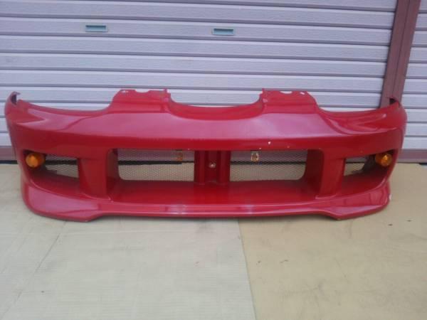 スズキ カプチーノ メーカー不明 社外 FRP フロント バンパー ジャンク 補修ベース