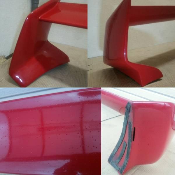スズキ カプチーノ メーカー不明 社外 FRP リア リヤ ウイング スポイラー 再塗装ベース 中古品_画像3