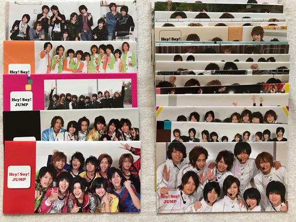 Hey!Say!JUMP ファンクラブ会報 NO.0~36 37冊セット コンサートグッズの画像