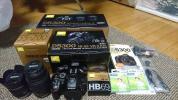 美品 Nikon D5300 ダブルズームキット2 + 撮影ガイドブック 純正レンズフード HAKUBAレンズガード×2