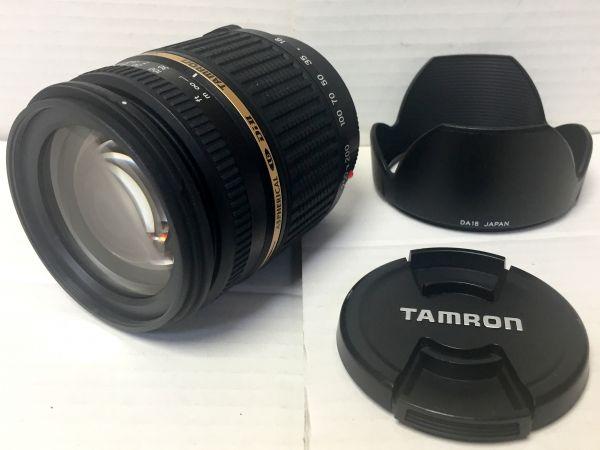 1円~TAMRON AF ASPHERICAL LD Di Ⅱ 18-250mm 1:3.5-6.3 IF MACRO A18 CANON用 状態良好品