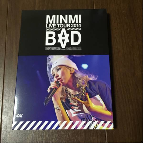 "MINMI LIVE TOUR 2014""BAD"" [DVD]美品 送料込み ライブグッズの画像"