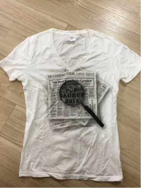 美品★Mr.Children★ミスチル Tシャツ popsaurus 2012 Lサイズ 25周年