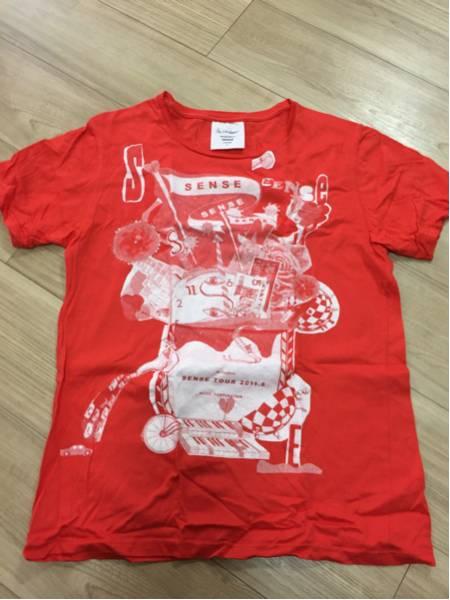 Lサイズ Mr.Children★ミスチル Tシャツ SENCE 赤 レッド 25周年