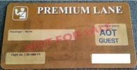 全航空会社対応 バンコク スワンナプーム国際空港 プレミアムレーン4枚 値下交渉可!