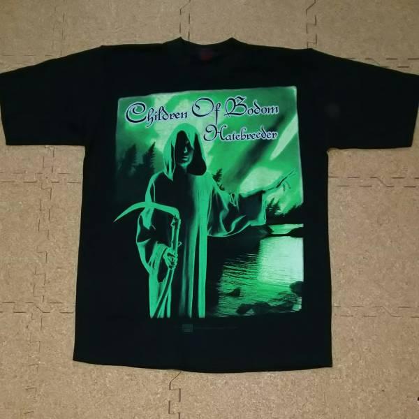 90s 1999年 Children Of Bodom バンド Tシャツ UK製 Mサイズ メタリカ