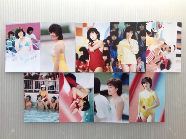 レア☆柏原芳恵写真Lサイズ25枚セット2