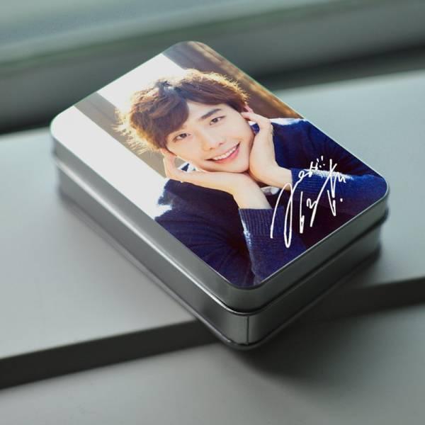 W-君と僕の世界 イ・ジョンソク  ミニ写真30枚 (箱付く)A