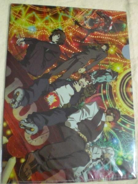 アニメ 血界戦線 A4クリアファイル3種セット 東宝 グッズの画像