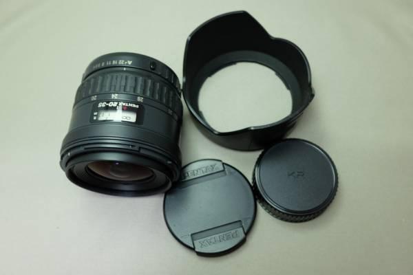 【中古】【全国送料500円】PENTAX FA 20-35mm F4 AL K-1 フルサイズ対応 ペンタックス