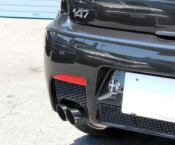 【 最終モデル / イモラレザー 】 2006y アルファロメオ 147 GTA タイベル交換済 V6 250ps 検R3/5_ARQRAY スポーツマフラー
