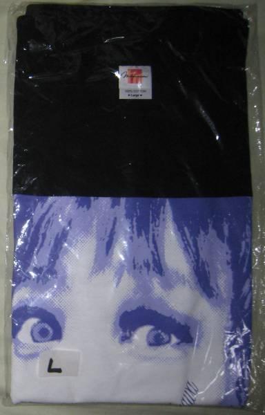 戸川純 顔に字Tシャツ(黒)Lサイズ
