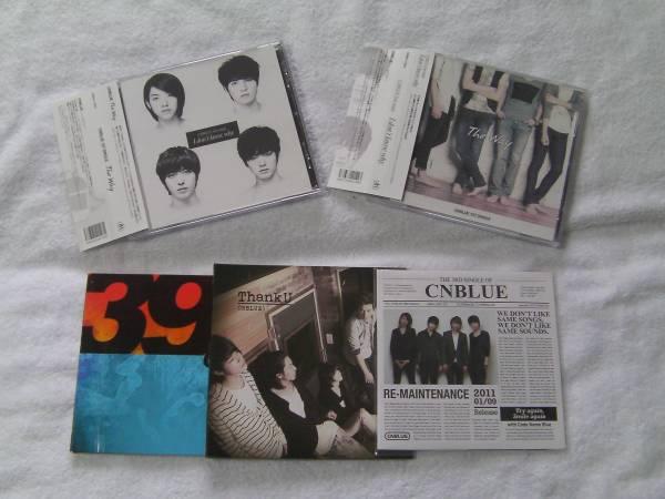CNBLUE インディーズ時代のシングル3枚、アルバム2枚 ライブグッズの画像
