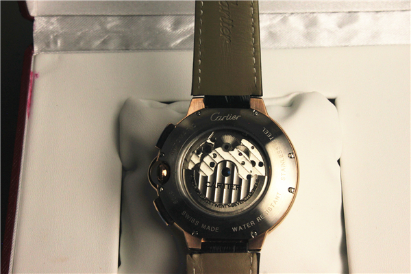 カルティエ Cartierバロンブルー ドゥ メンズ時計_画像3
