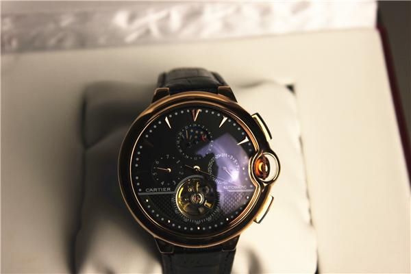 カルティエ Cartierバロンブルー ドゥ メンズ時計_画像2