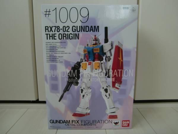 METAL COMPOSITE RX78-02 ガンダム THE ORIGIN Re:PACKAGE メタルコンポジット GUNDAM FIX FIGURATION 機動戦士ガンダム 新品