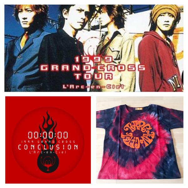 貴重★完売 L'Arc-en-Ciel 1999 GRAND CROSS TOUR Tシャツ ラルクアンシエル L'Arc~en~Ciel hyde VAMPS ライブ グッズ LIVE 東京ドーム