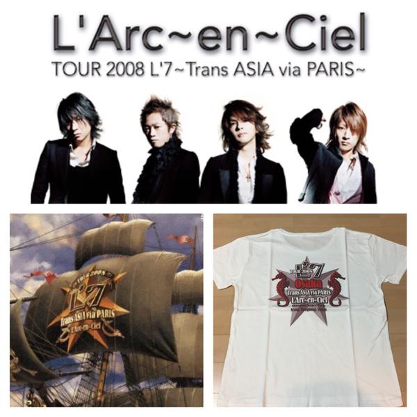 貴重★完売 L'Arc-en-Ciel L'7 TOUR Trans ASIA VAMPS PARIS 大阪限定Tシャツ ラルクアンシエル L'Arc~en~Ciel hyde VAMPS ライブ グッズ