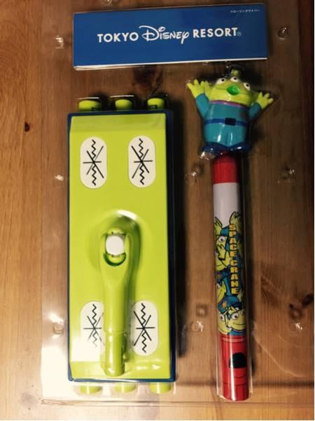 ☆ディズニー Disney リトルグリーンメン フローリングワイパー☆ ディズニーグッズの画像