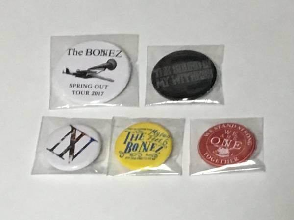 The BONEZ 激レア缶バッジ5個セット ★非売品★ 新品未開封 JESSE RIZE