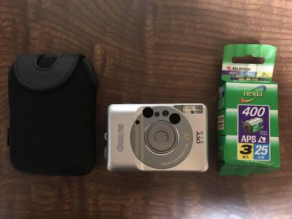 Canon キャノンIXY310 中古美品+APSフィルム25枚撮3本